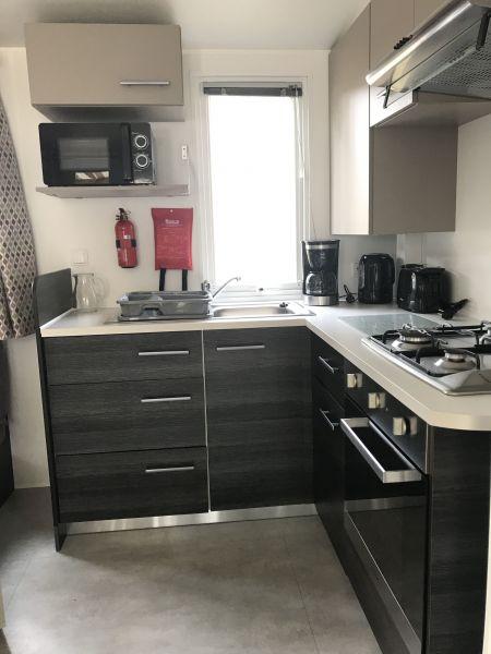 Angolo cottura Affitto Casa mobile 119377 Saint-Julien-en-Born