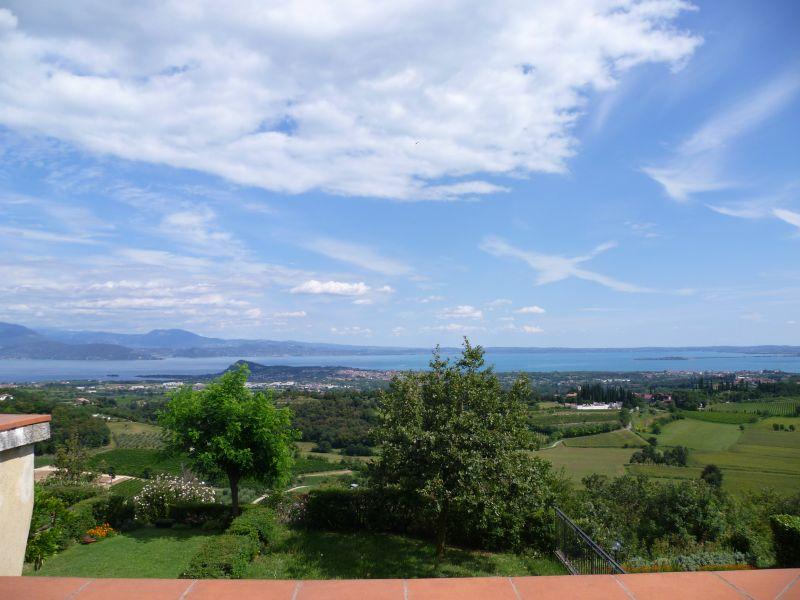 Vista dal terrazzo Affitto Appartamento 63981 Manerba del Garda