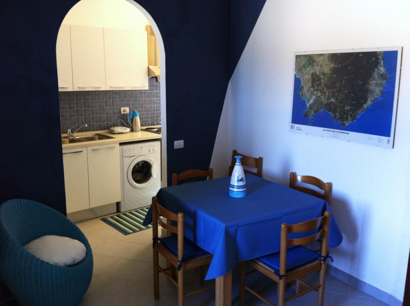 Sala da pranzo Affitto Appartamento 67082 Santa Margherita di Pula