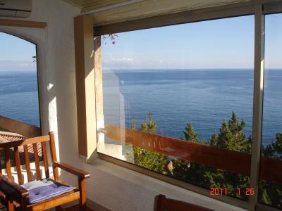 Vista dalla casa vacanze Affitto Villa  73306 Sainte Lucie de Porto Vecchio