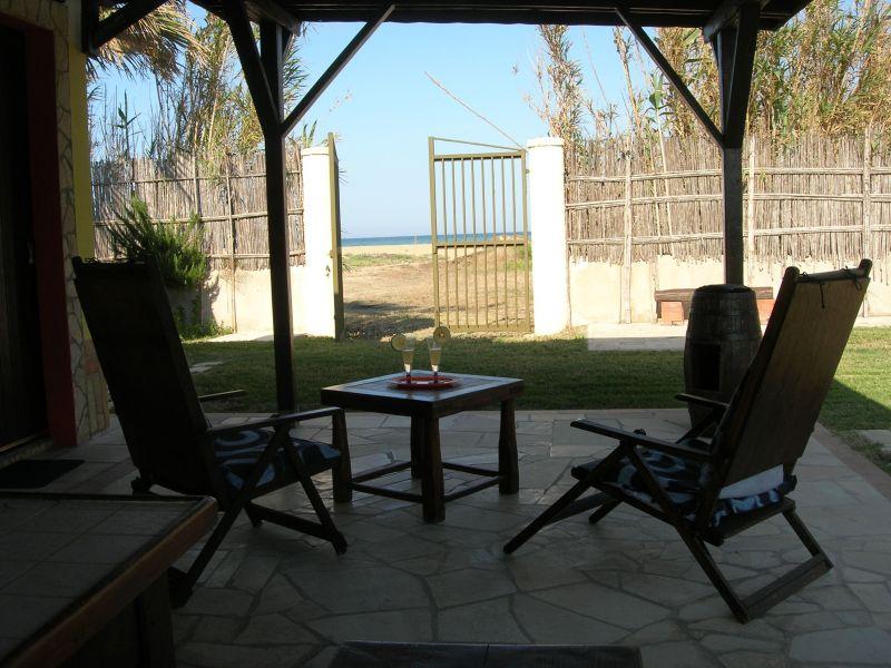 Vista dalla casa vacanze Affitto Villa  75799 Avola