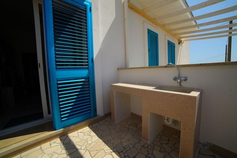 Vista esterna della casa vacanze Affitto Appartamento 80037 Ugento - Torre San Giovanni
