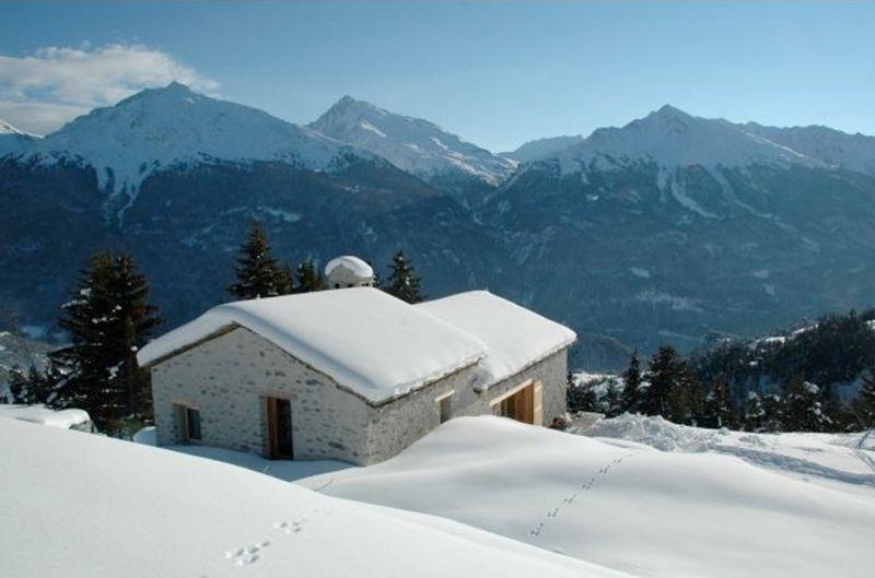 Vista esterna della casa vacanze Affitto Chalet 91664 Aussois
