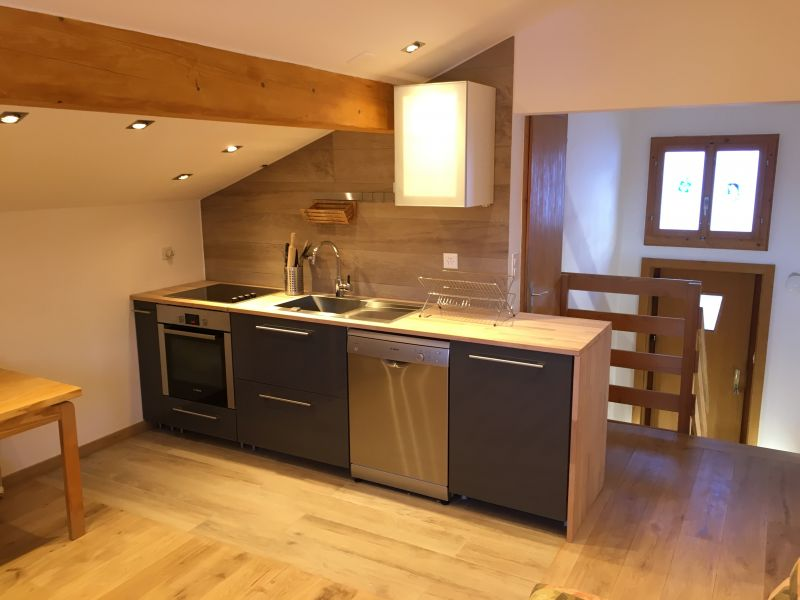 Cucina separata Affitto Appartamento 4697 Les Crosets