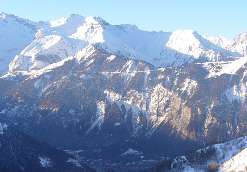 Vista dal balcone Affitto Appartamento 64 Alpe d'Huez