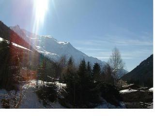 Vista dal terrazzo Affitto Appartamento 650 Chamonix Mont-Blanc (Monte Bianco)