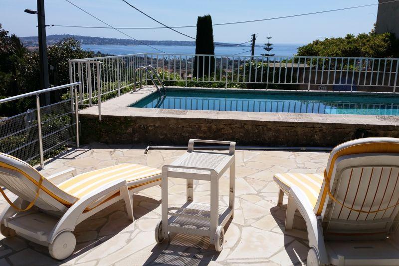 Vista dalla casa vacanze Affitto Villa  100556 Golfe Juan