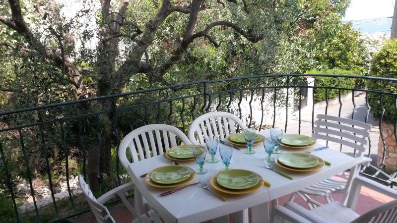 Vista dal terrazzo Affitto Villa  100556 Golfe Juan
