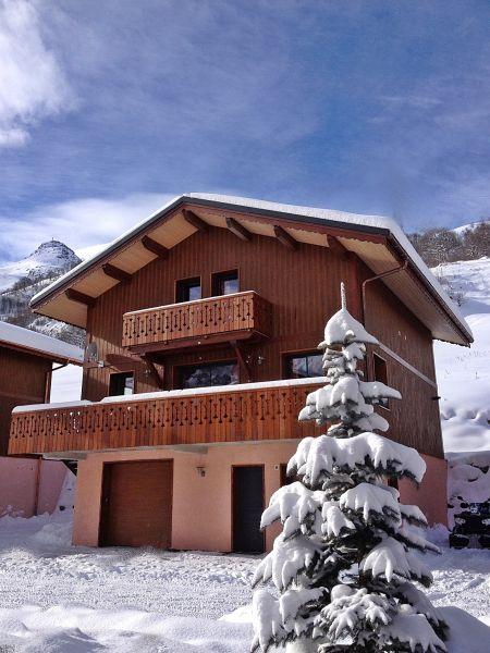 Vista esterna della casa vacanze Affitto Chalet 100576 Les Menuires