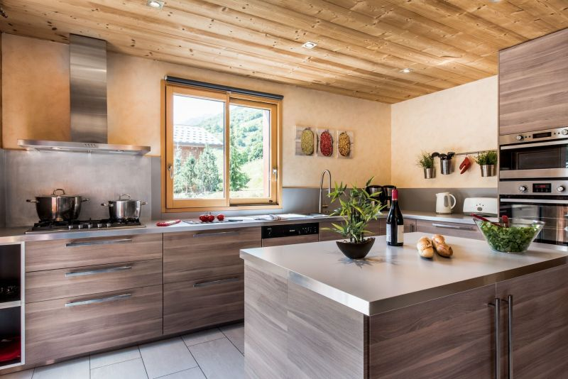 Cucina all'americana Affitto Chalet 100576 Les Menuires