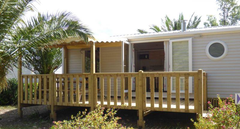 Vista esterna della casa vacanze Affitto Casa mobile 101413 Patrimonio