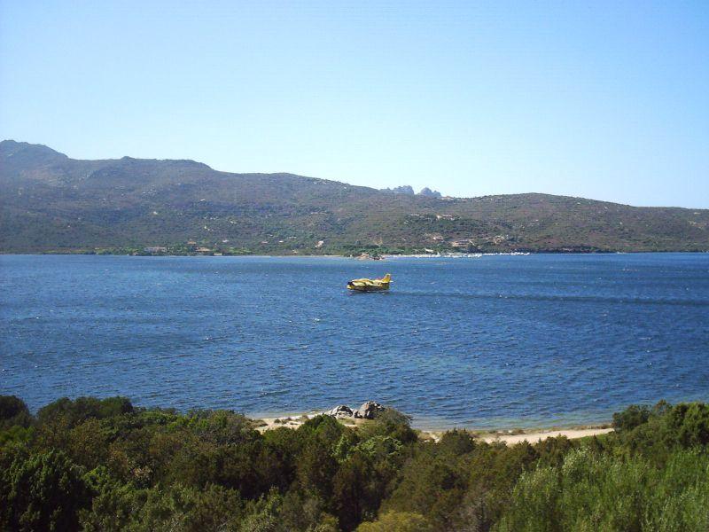 Vista dal terrazzo Affitto Appartamento 107181 Porto Rotondo
