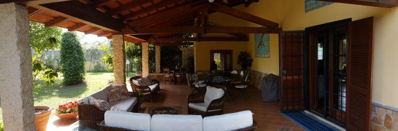 Veranda Affitto Villa  116100 Sperlonga