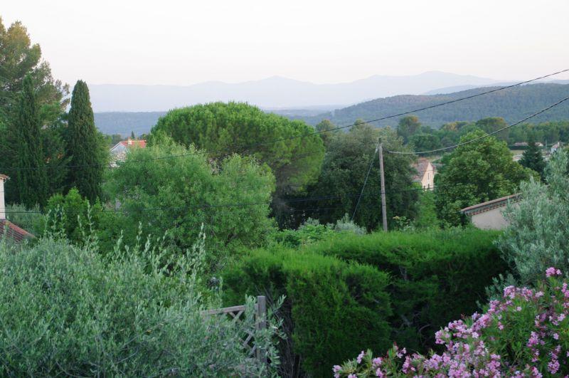 Vista dal terrazzo Affitto Villa  117687 Draguignan