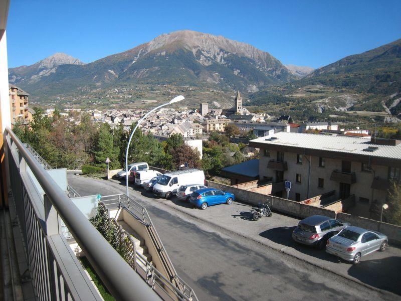 Vista dal terrazzo Affitto Appartamento 118158 Embrun