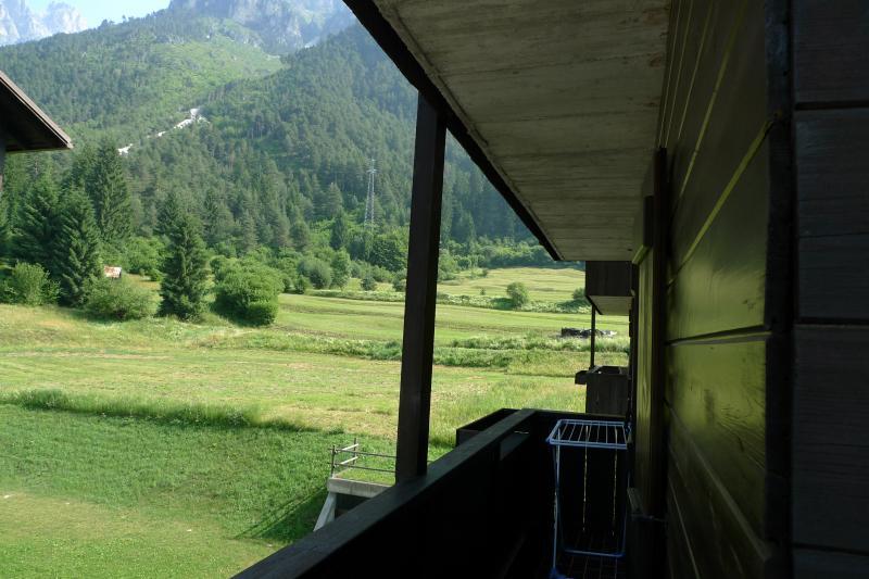 Vista dal balcone Affitto Appartamento 67023 Auronzo di Cadore