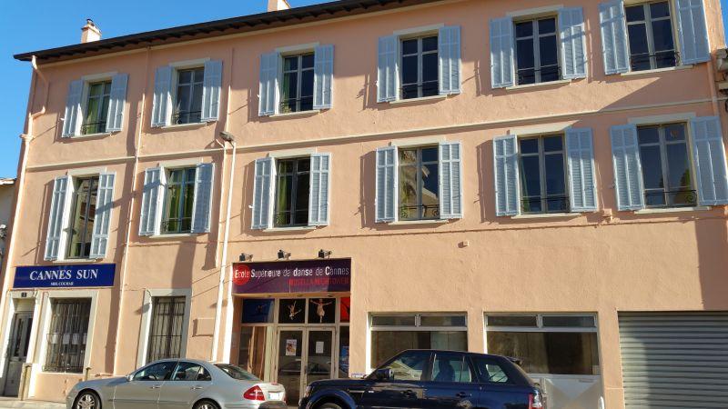 Vista esterna della casa vacanze Affitto Appartamento 72431 Cannes