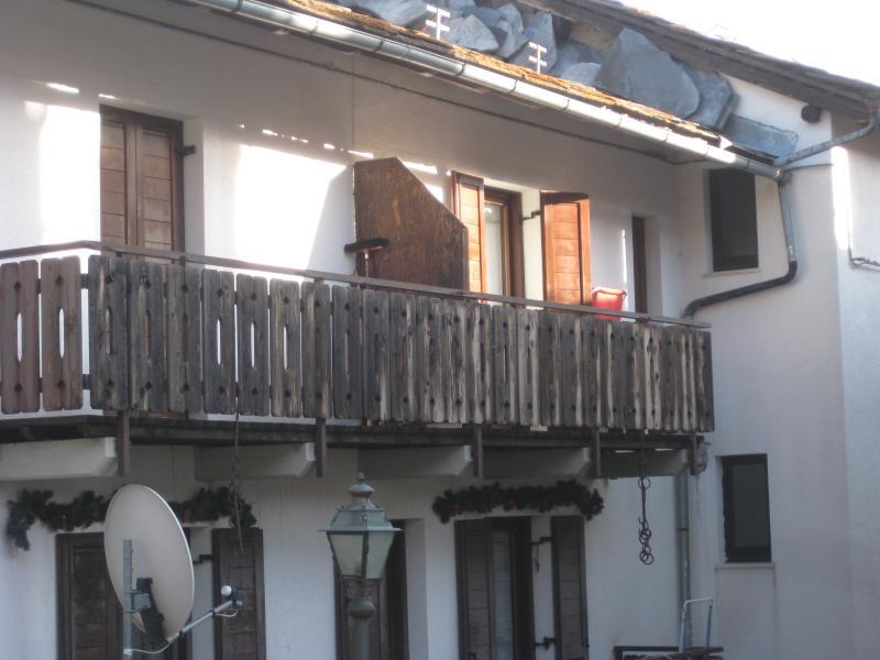 Vista esterna della casa vacanze Affitto Appartamento 74280 Torgnon