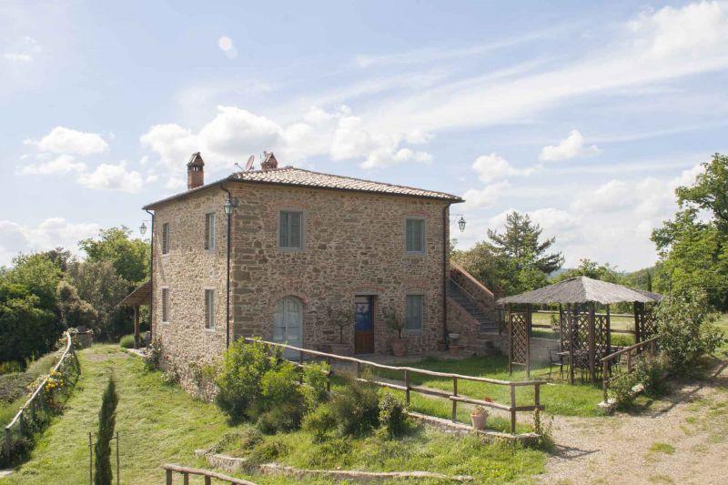 Vista esterna della casa vacanze Affitto Villa  75874 Siena