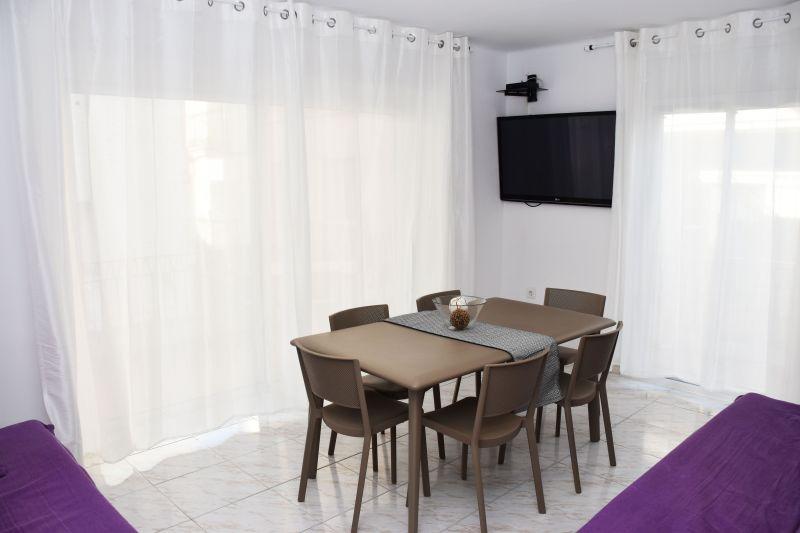 Sala da pranzo Affitto Appartamento 76045 Rosas
