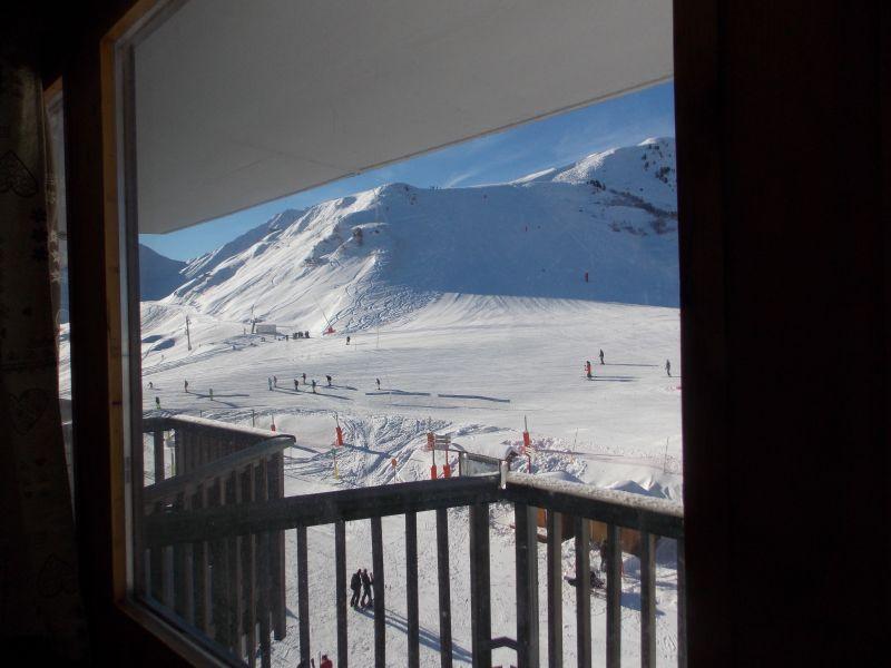 Vista dal terrazzo Affitto Monolocale 79769 La Plagne