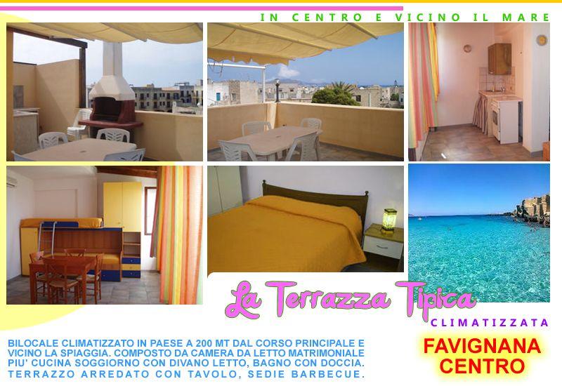 Camera Affitto Appartamento 87284 Favignana