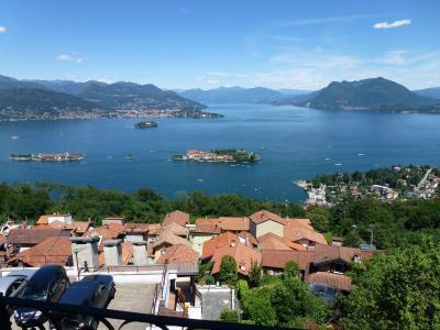 Vista dal balcone Affitto Appartamento 94651 Stresa