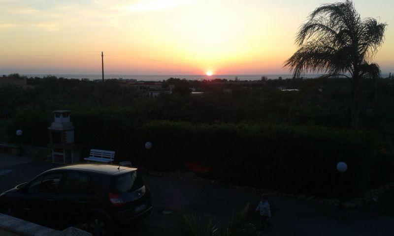 Vista dal balcone Affitto Appartamento 95183 Gallipoli