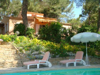 Vista esterna della casa vacanze Affitto Casa 96924 La Cadi�re d'Azur