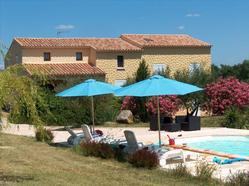 Vista esterna della casa vacanze Affitto Casa 100952 Anduze