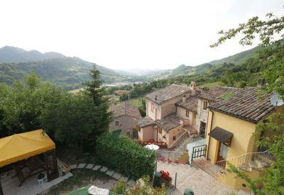 Vista dalla casa vacanze Affitto Agriturismo 102280 Urbino