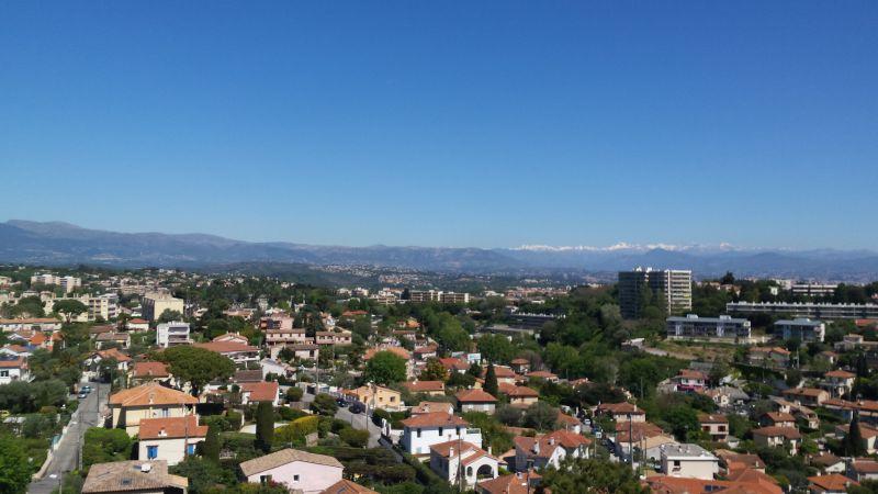 Vista dalla casa vacanze Affitto Appartamento 107906 Antibes