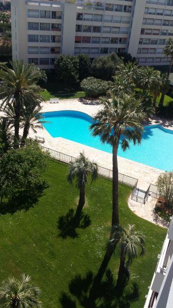 Vista dal terrazzo Affitto Appartamento 107906 Antibes