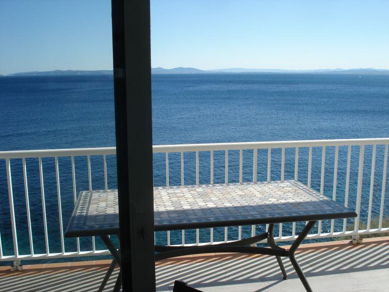 Vista dalla casa vacanze Affitto Appartamento 109610 Rosas