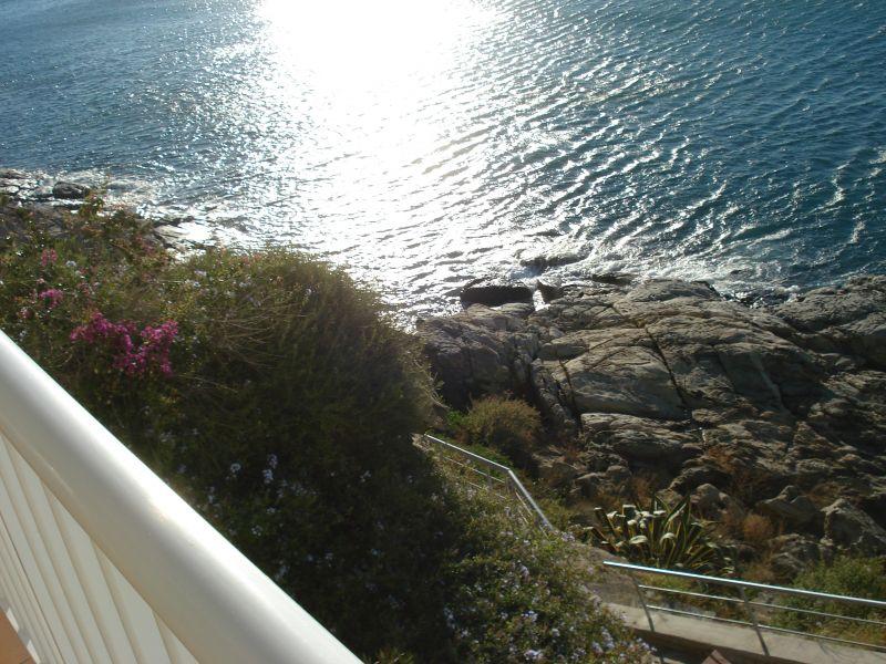 Vista dal terrazzo Affitto Appartamento 109610 Rosas