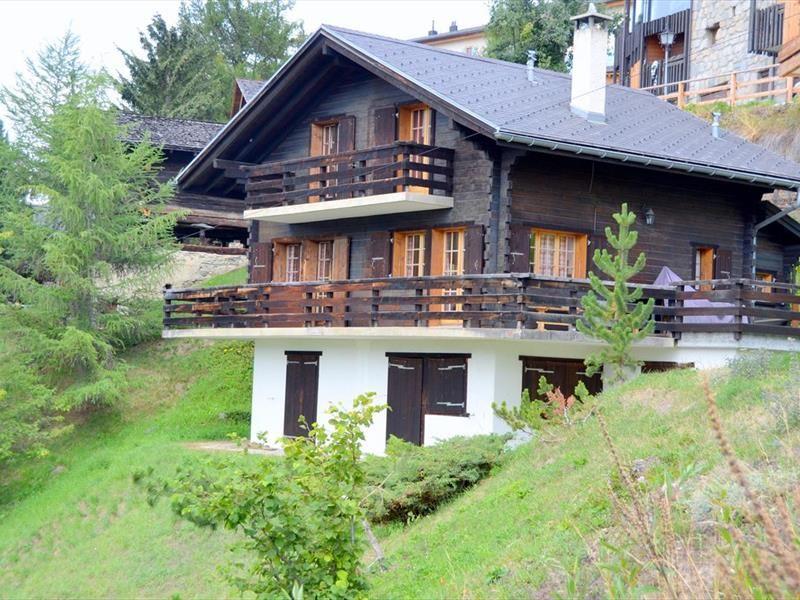 Vista esterna della casa vacanze Affitto Chalet 111750 Saint-Luc