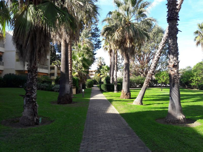 Giardino Affitto Appartamento 114308 Antibes
