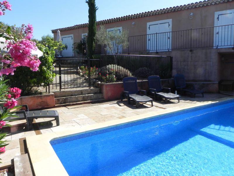 Vista dal balcone Affitto Villa  117404 Gréoux Les Bains