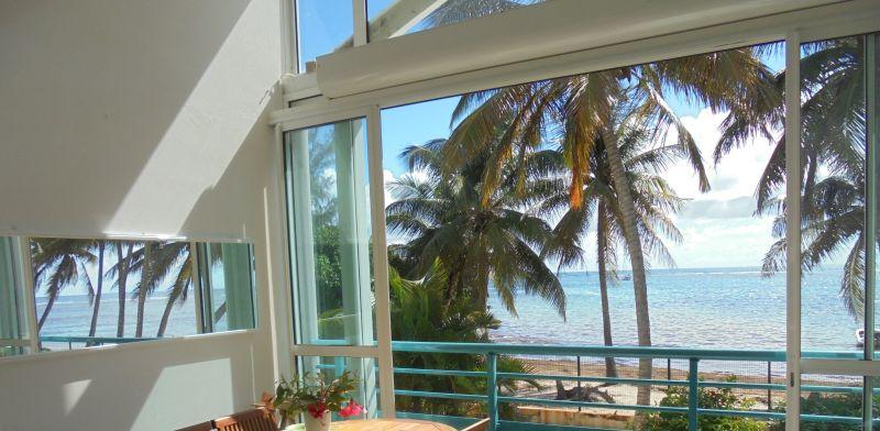 Vista dal terrazzo Affitto Appartamento 73124 Sainte Anne (Guadalupa)