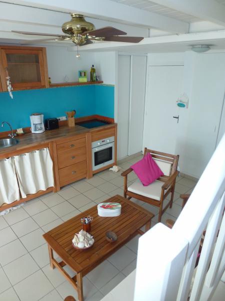 Cucina all'americana Affitto Appartamento 73124 Sainte Anne (Guadalupa)