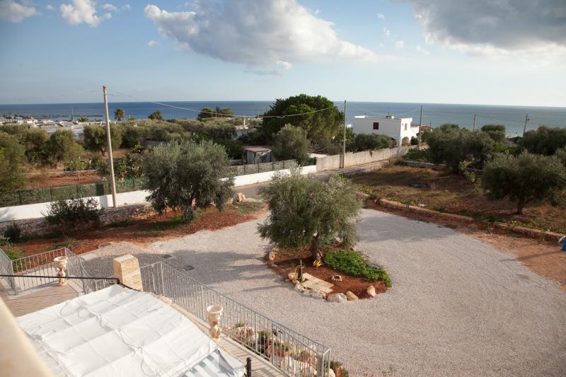 Vista dalla casa vacanze Affitto Villa  74745 Torre Vado