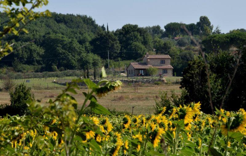 Vista esterna della casa vacanze Affitto Villa  77711 Amelia