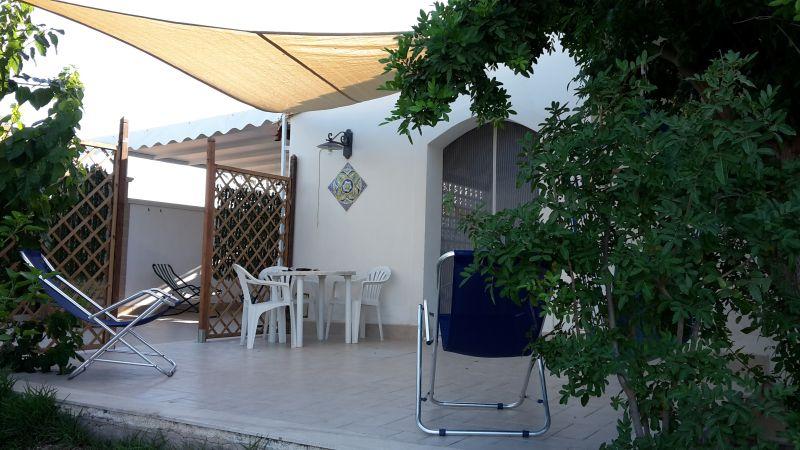 Vista esterna della casa vacanze Affitto Appartamento 78356 Tre Fontane