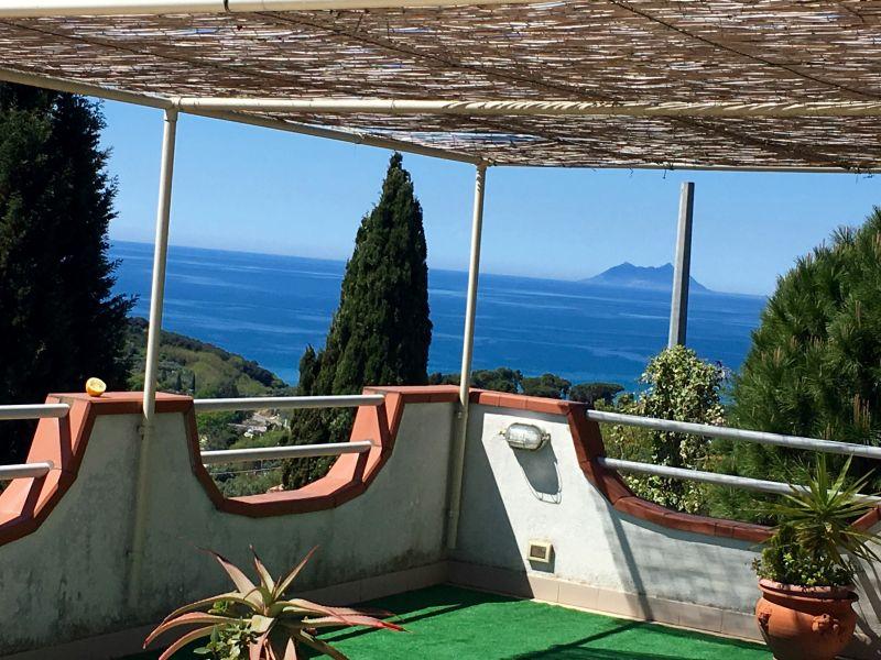 Vista dal terrazzo Affitto Monolocale 79110 Gaeta