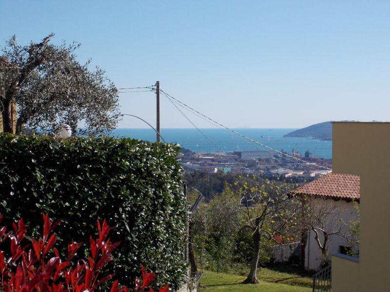 Vista dal terrazzo Affitto Appartamento 79780 La Spezia