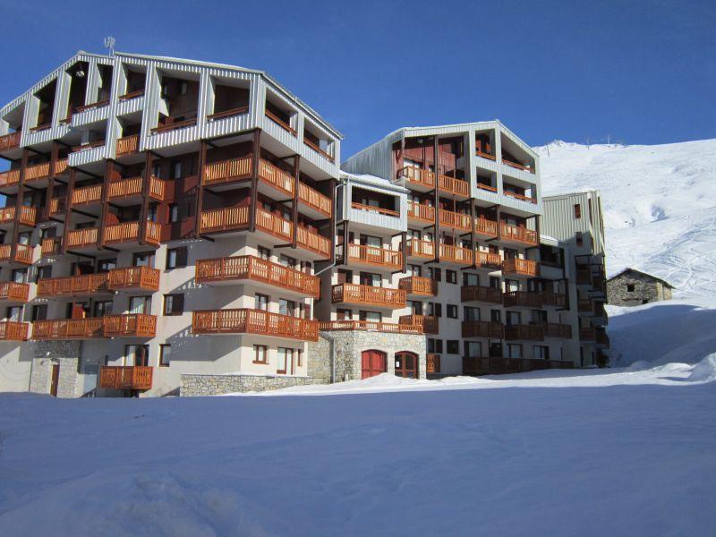Vista esterna della casa vacanze Affitto Monolocale 80546 Tignes