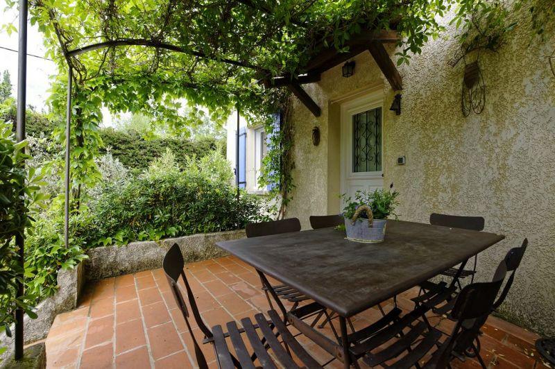 Vista dal terrazzo Affitto Casa 84879 Saint Rémy de Provence