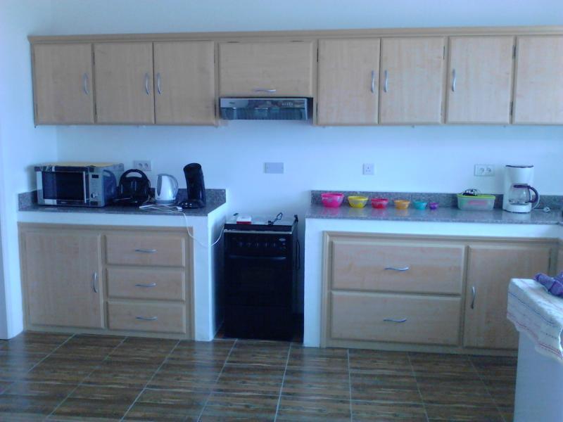 Cucina all'americana Affitto Villa  86489 Baie du tombeau