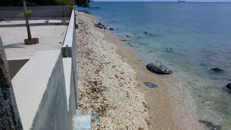 Spiaggia Affitto Villa  86489 Baie du tombeau