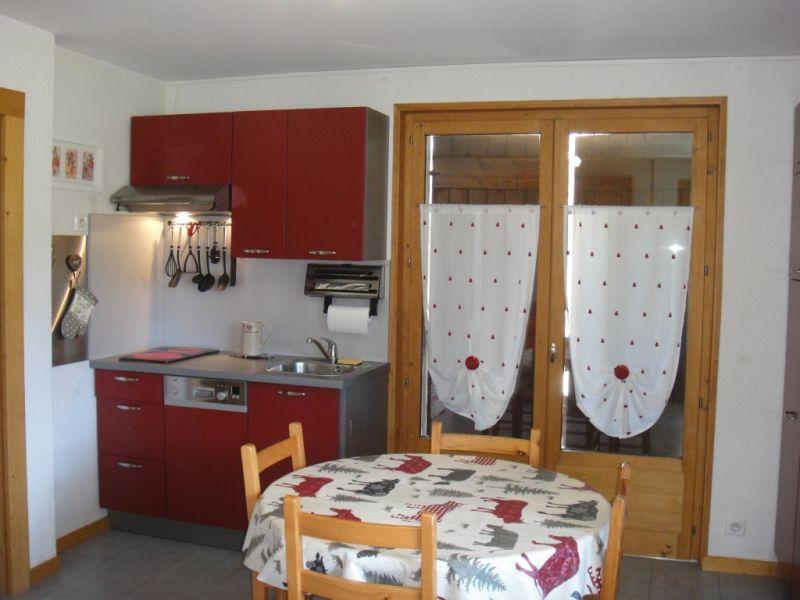 Angolo cottura Affitto Appartamento 91122 Samoëns